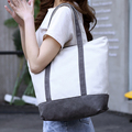 2017 new design canvas tote bag promotional cotton bag cotton canvas bag