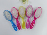 wholesale china factory 22cm oval curved cushion hair brush