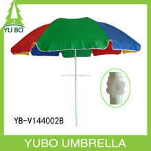 Custom logo promotion 2m portable beach umbrella
