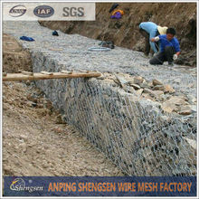 gabion stone cage box with 2m length