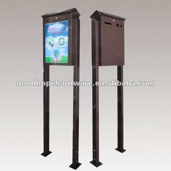 GH-B03-P 2 advertise standing used battery recycle box