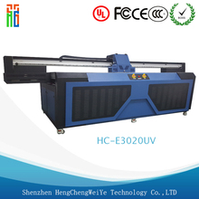 Large Wide Format Wood/Glass UV Flatbed Printer/digital printing machine