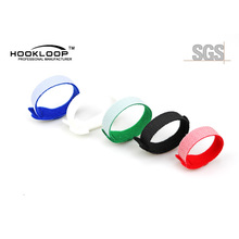 High Quality Double Side Iron-On Hook And Loop Tape Soft Cable Tie