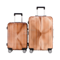 China Luggage Factory Supply 2 Piece