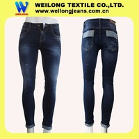 Q002-1T High quality denim fabrics for men's jeans made in Foshan