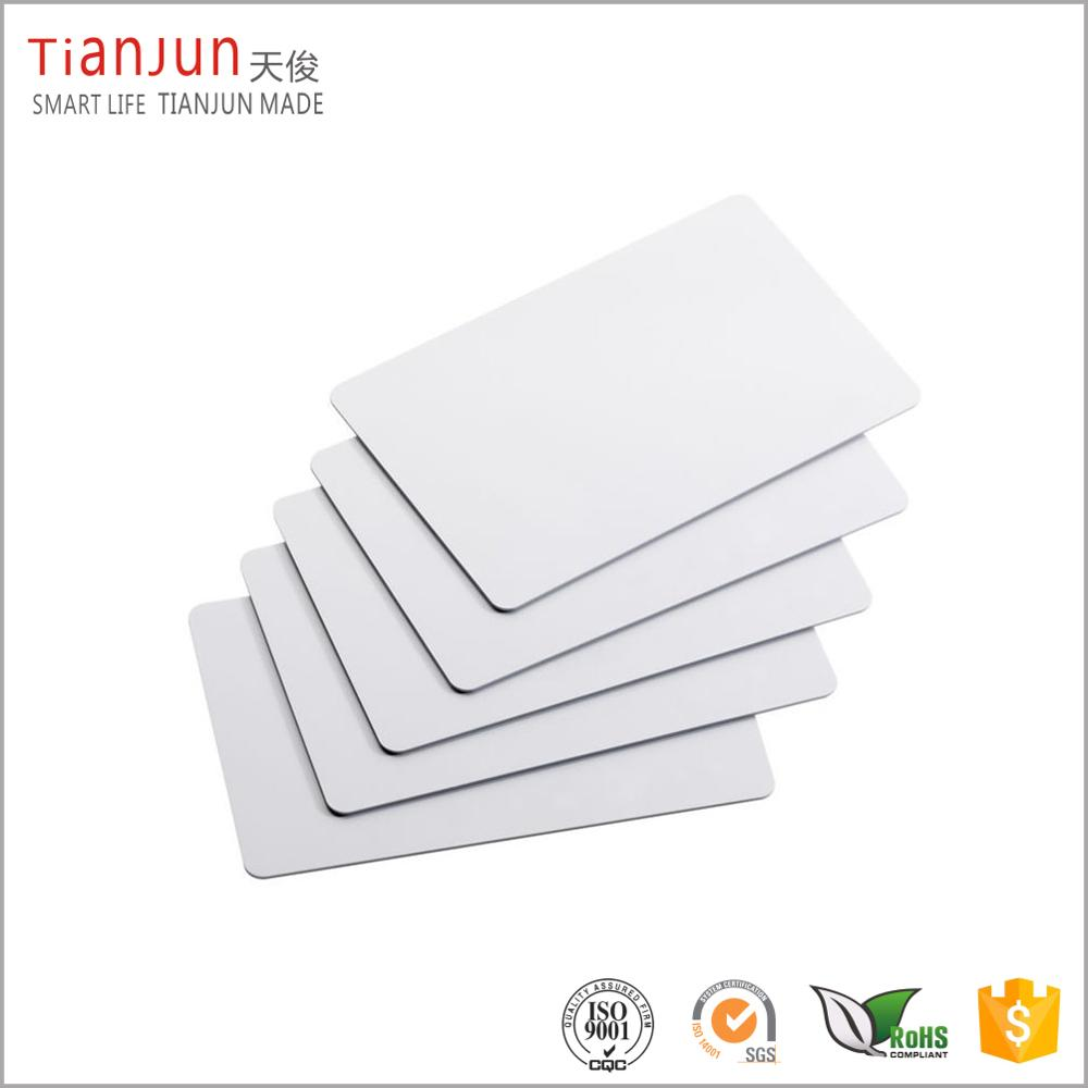 2017 Hot Sale Top Quality Blank Plastic <strong>Card</strong> with Factory Low Price