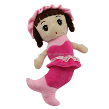 fashionable popular plush baby dolls girl toys