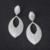 OB Jewelry-Solid 925 Sterling Silver Material Jewelry Clip On Style #5 Ruby Earrings
