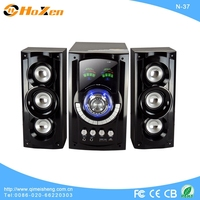 2013 latest new model 2.1 best multimedia speaker with light decoration,sd,remote control