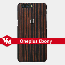 100% Original Oneplus Wooden Ebony Back Case For Oneplus 5 Mobile Phone Protective Cover