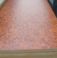 High Quality 6mm water proof melamine sheet board prices