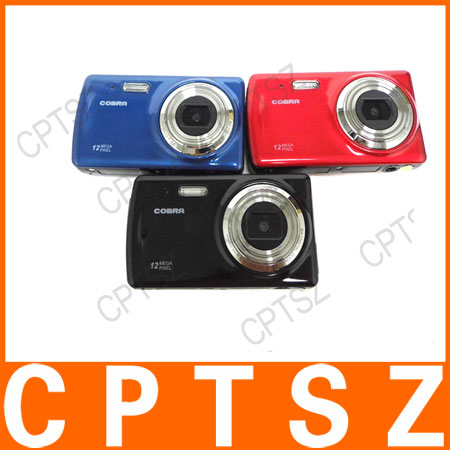 "Hottest Good quality and cheap price, 12MP digital photo camera with 2.7"" screen, 8X digital zoom. DC-522"