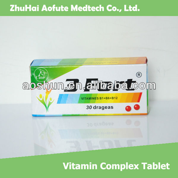 Vitamin B1+B6+B12 Tablet