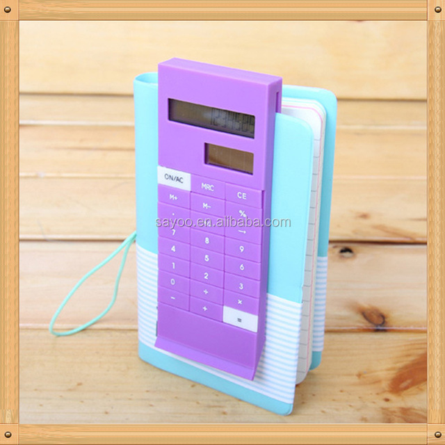 Ultrathin Fashion exquisite gifts Clip book calculator