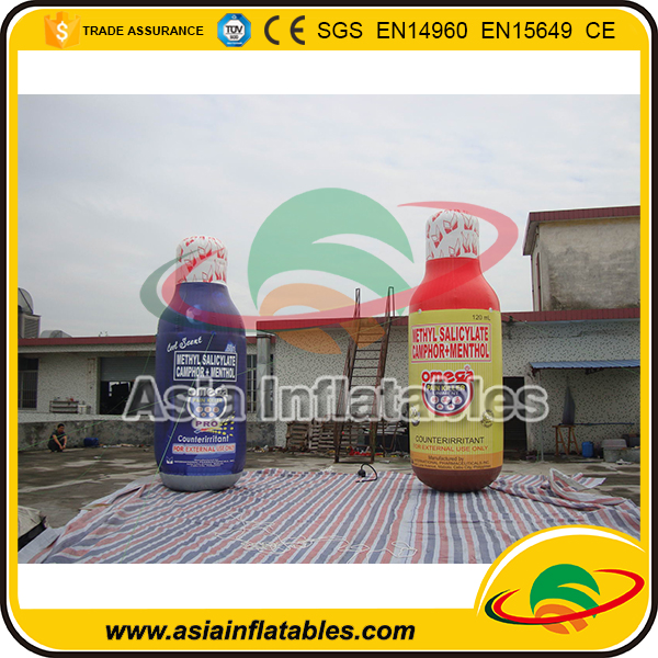 Giant Inflatable Bottles Model / Inflatable Bottles Model Replica for Exhibition
