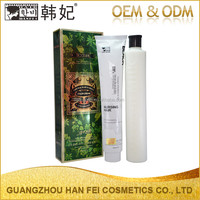 Professional factory healthy herbal black hair care products hair dye black hair shampoo