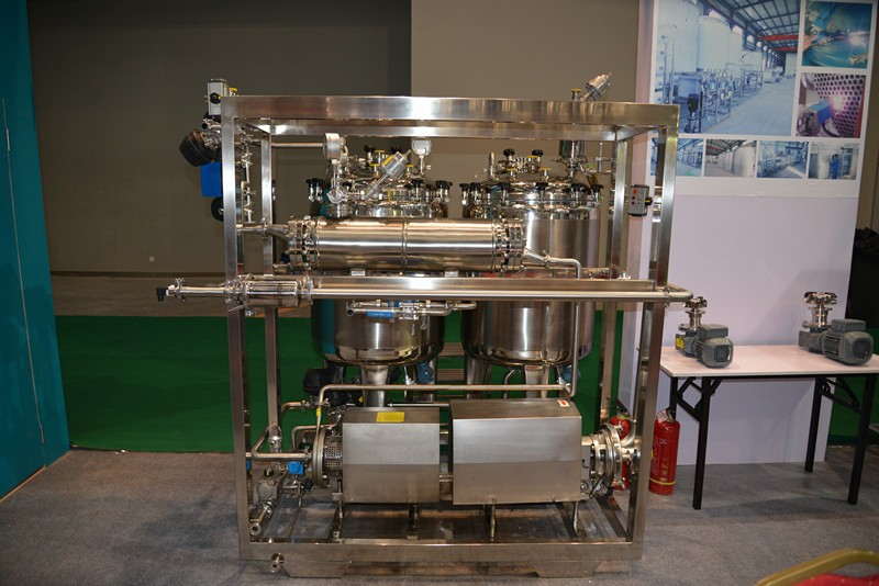 Manual brewery CIP cleaning / rinsing system