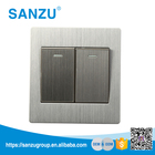 Electrical Equipment Universal Wall Switched, 2 Gang Powerpoint Wall Switch