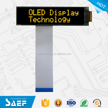 16 characters (W)X2 lines (H) OLED LCD Display 2.26 inch OLED Display Module