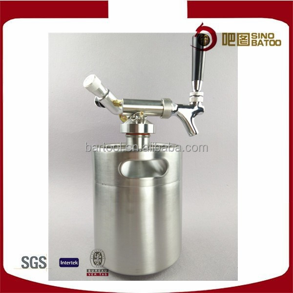 kegerator stainless steel beer tower dispenser