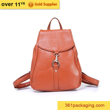 Newest leather school backpack bag,school bags lowest price