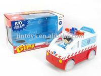 Battery Operated Bump&go Ambulance Car With light and music