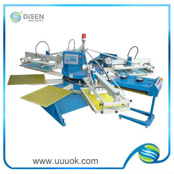 High speed digital silk screen printing machine