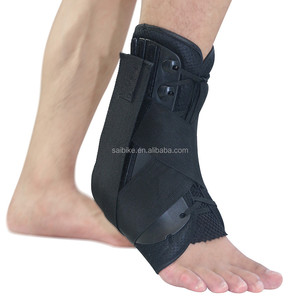 High Quality Professional high elastic Adjustable Ankle Support Large size