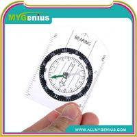 compass with scale ,H0T066 plastic compass with carabiner , cheap carabiners