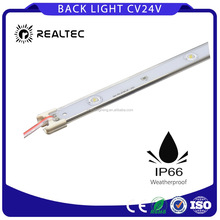 Ip65 rigid led strip light/bar light backlight 12v/24v for outdoor single light box/sign board