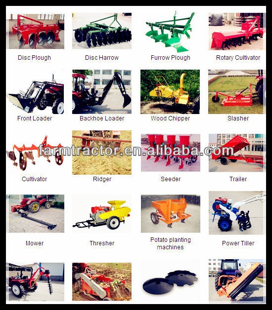 12hp minitractor/agriculture equipment/Chinese farming tractor