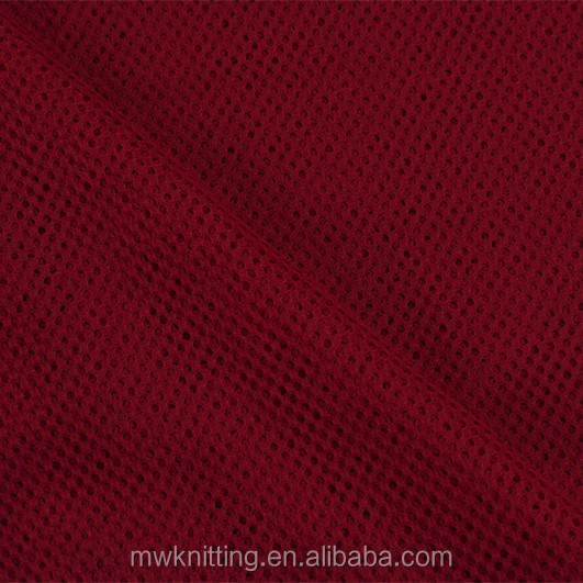 60inch polyester spandex elastic mesh ladies garments lining fabric