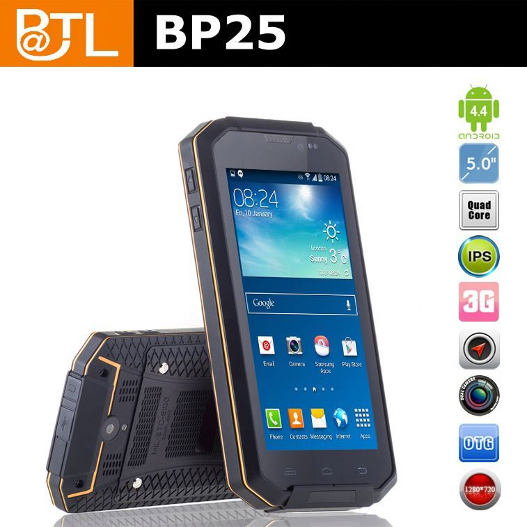 SWZ0222 BATL BP25 android OS best rugged cell phone t-mobile with nfc , rugged android phone