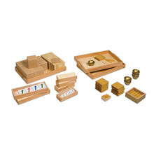 Montessori Educational Children Toys Golden Bead Montessori Materials In China