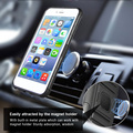 2018 fashion tpu pc magnetic car mount holder ring armor holster phone case for iphone 7 with kickstand