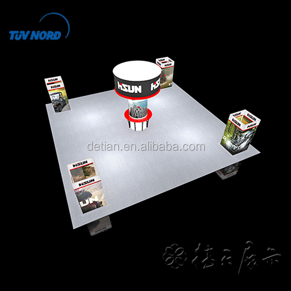 Car Trade Show Display Stand for Big Exhibition