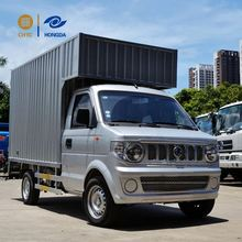 Top level best sell Solomon Islands 7.5meter cargo van truck box body for sale