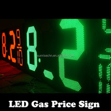 led numbers module display gas price sign numbers /l Price Digital Sign Light,Outdoor Led Display Board,Gas Station Led Price