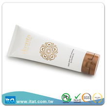 Customized squeeze body lotion massage cream plastic tube packaging