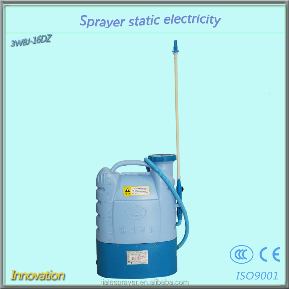 16liters China Jiangsu factory supplier electric paint battery operated insecticide sprayer