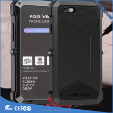 High quality Full protective Tuff Armor Cover Phone Case for iphone 7 iphone8, aluminum waterproof phone case