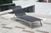 Outdoor stainless steel beach sling sun lounge JX-2218