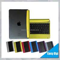 Aluminum Shell Bluetooth Keyboard Snap On Case Stand For Apple iPad 2 3 4 Mini