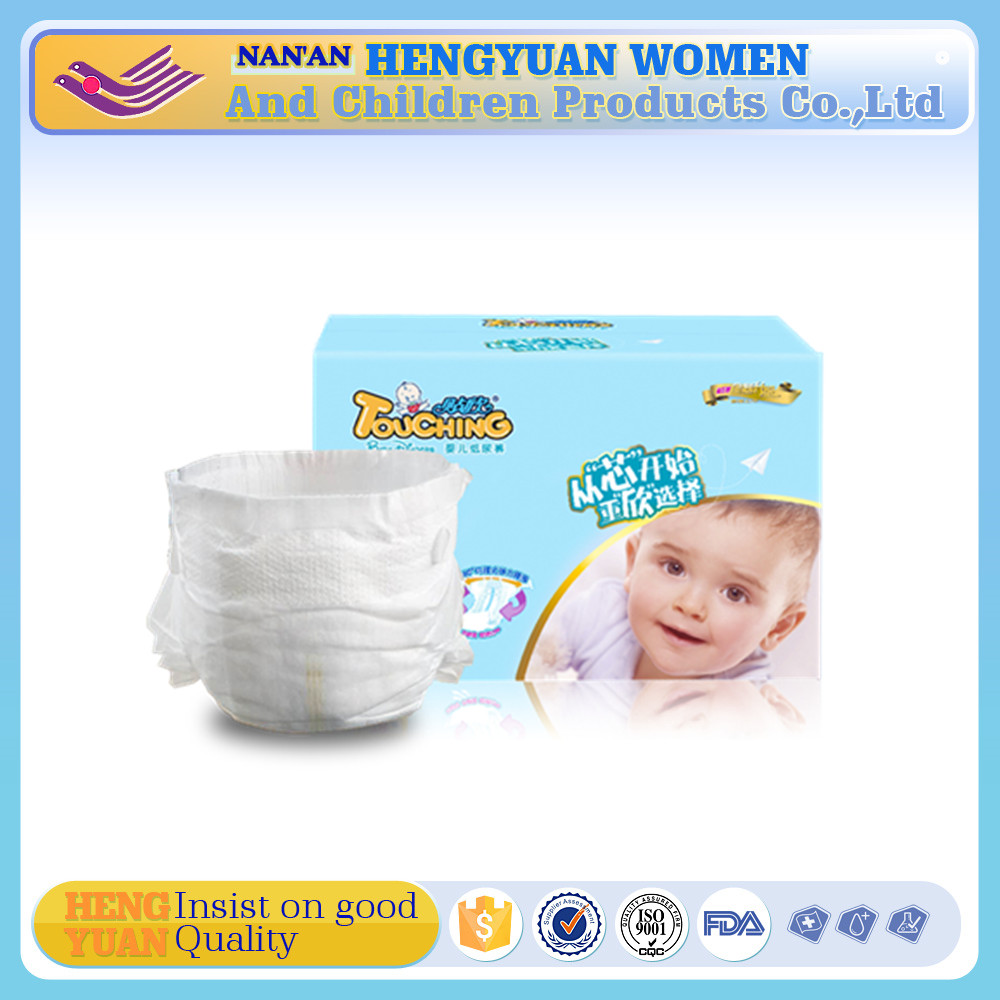 best selling ultra thin disposable cotton baby diapers manufacturers in china