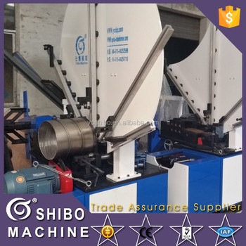 Spiral tube making machine