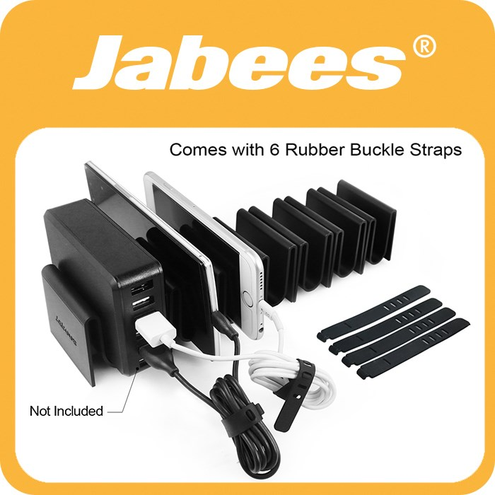Jabees Fits for Mobile Phone and Tablets Detachable Docking Station Restaurant Cell Phone Charging Station
