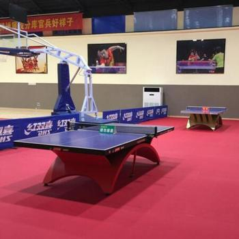 Superior Quality Competitive Price Indoor PVC Sports Roll Flooring for Table Tennis