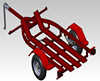 Hot Dip Galvanized Motorcycle Trailer TR0607