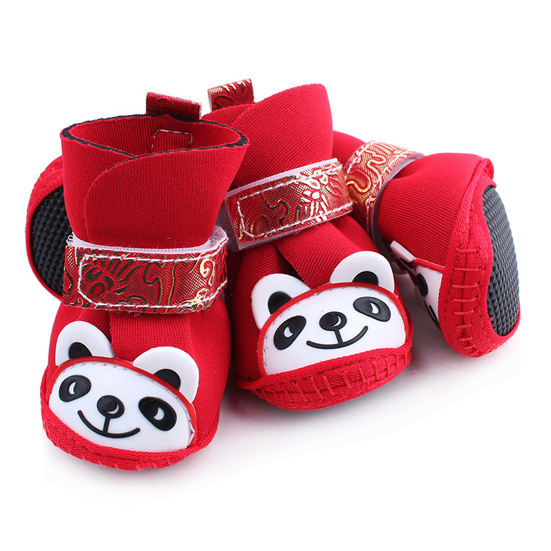 2016 Pet Accessory Warm Winter Dog Cat Shoes