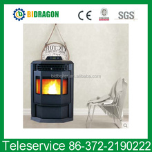 Programmable Wood Pellet Stove with Water Circulation Heating